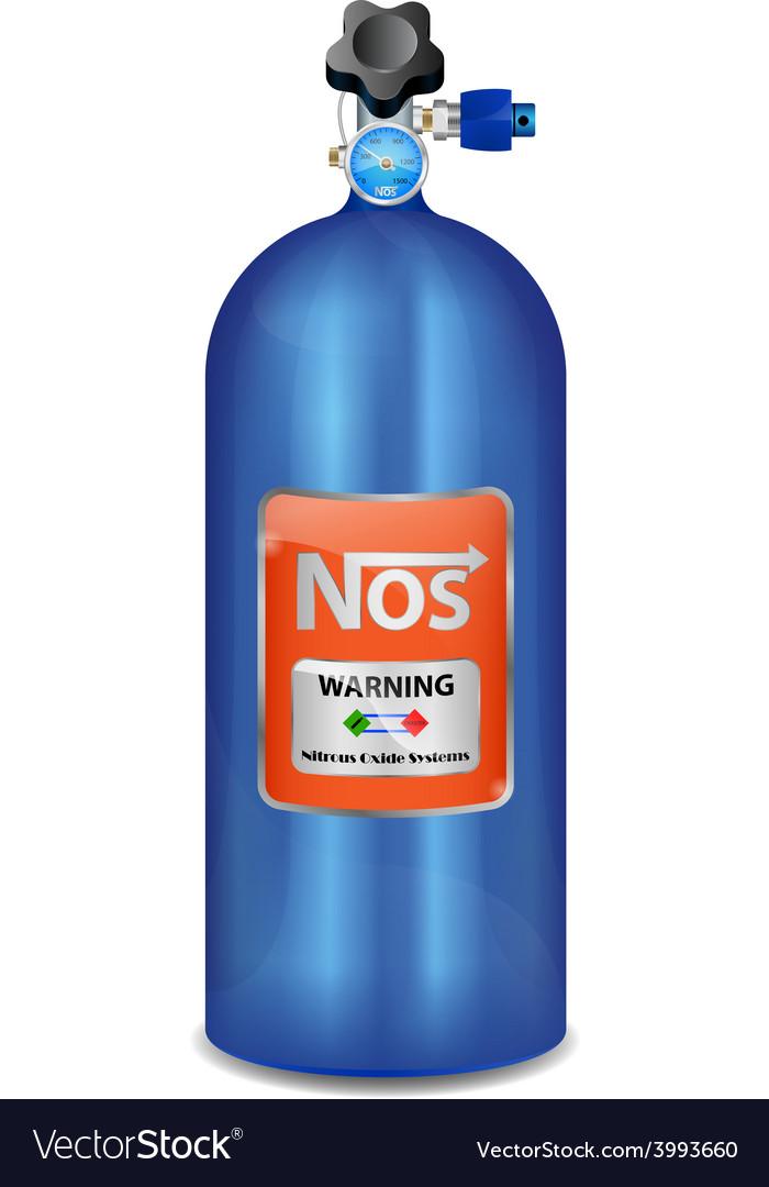 Nitrous oxide system nitro boosts nos vector
