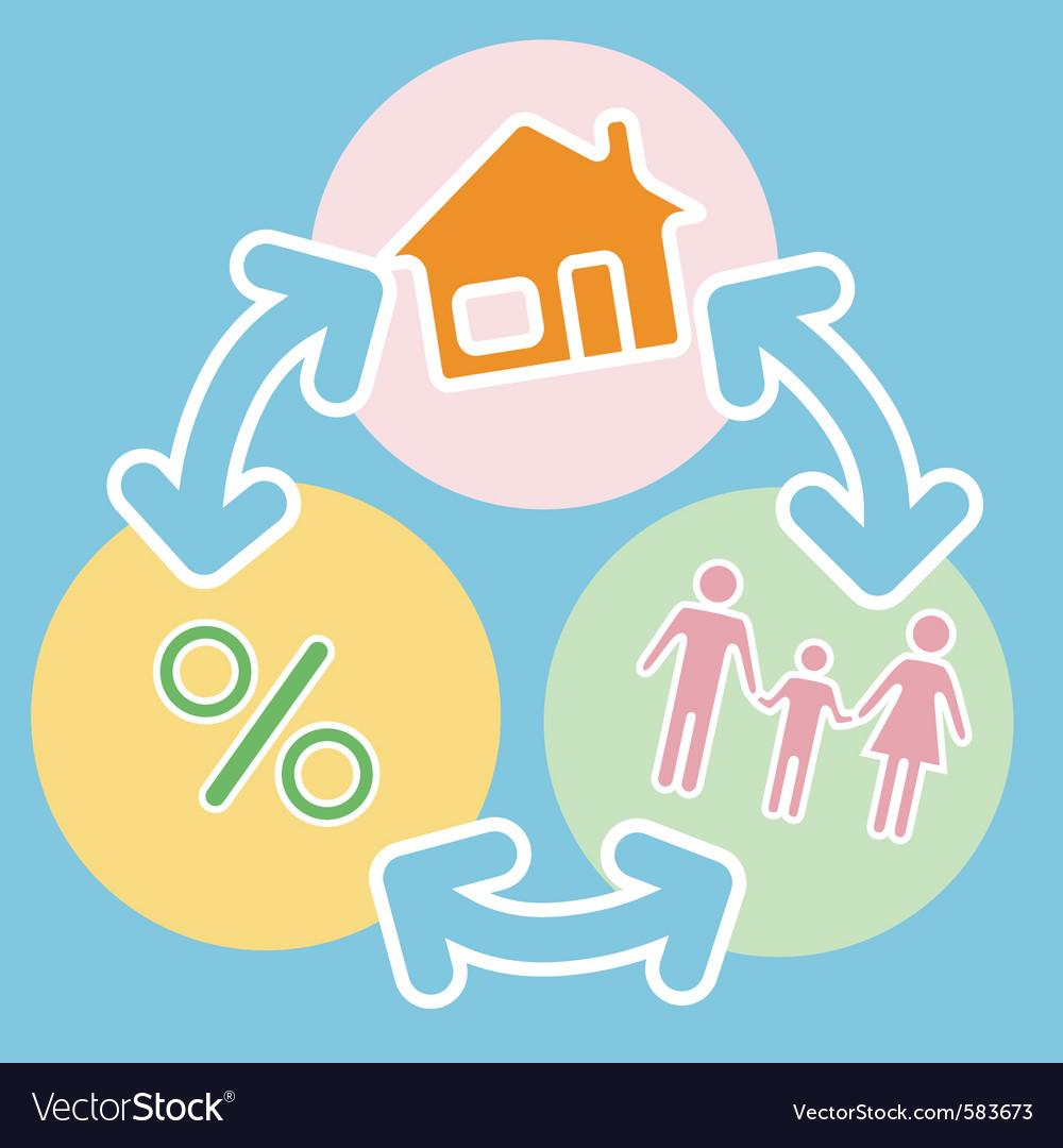 Bank lending vector