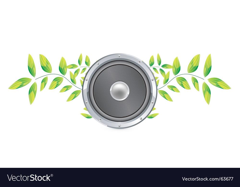 Nature speaker vector