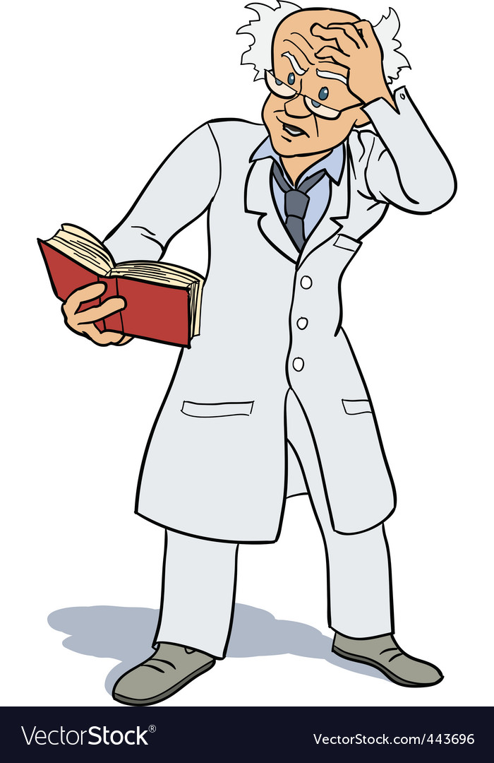 Scientist and invention vector