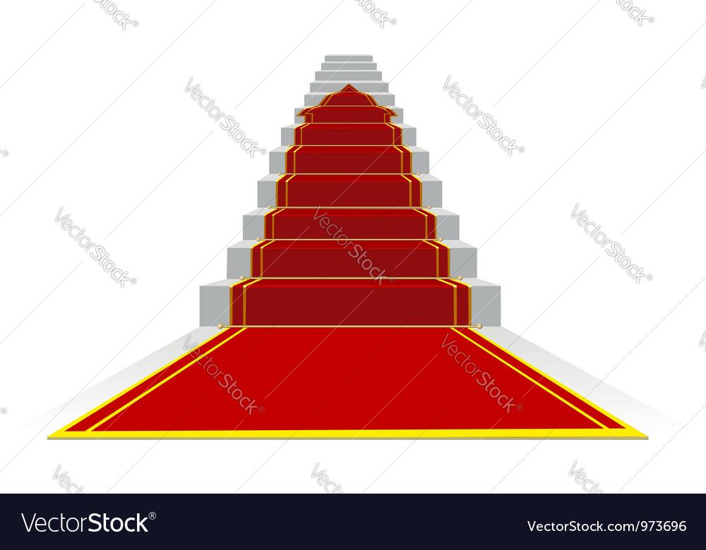 Success ladder vector