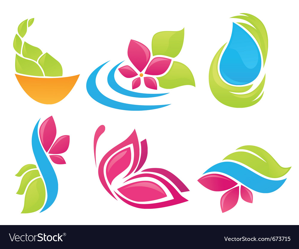 Beauty of nature vector