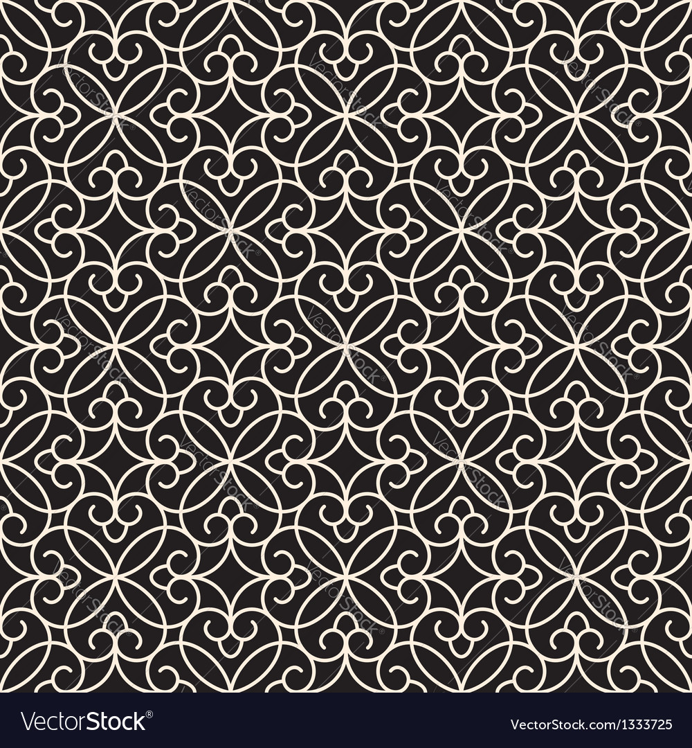 Seamless lace texture vector