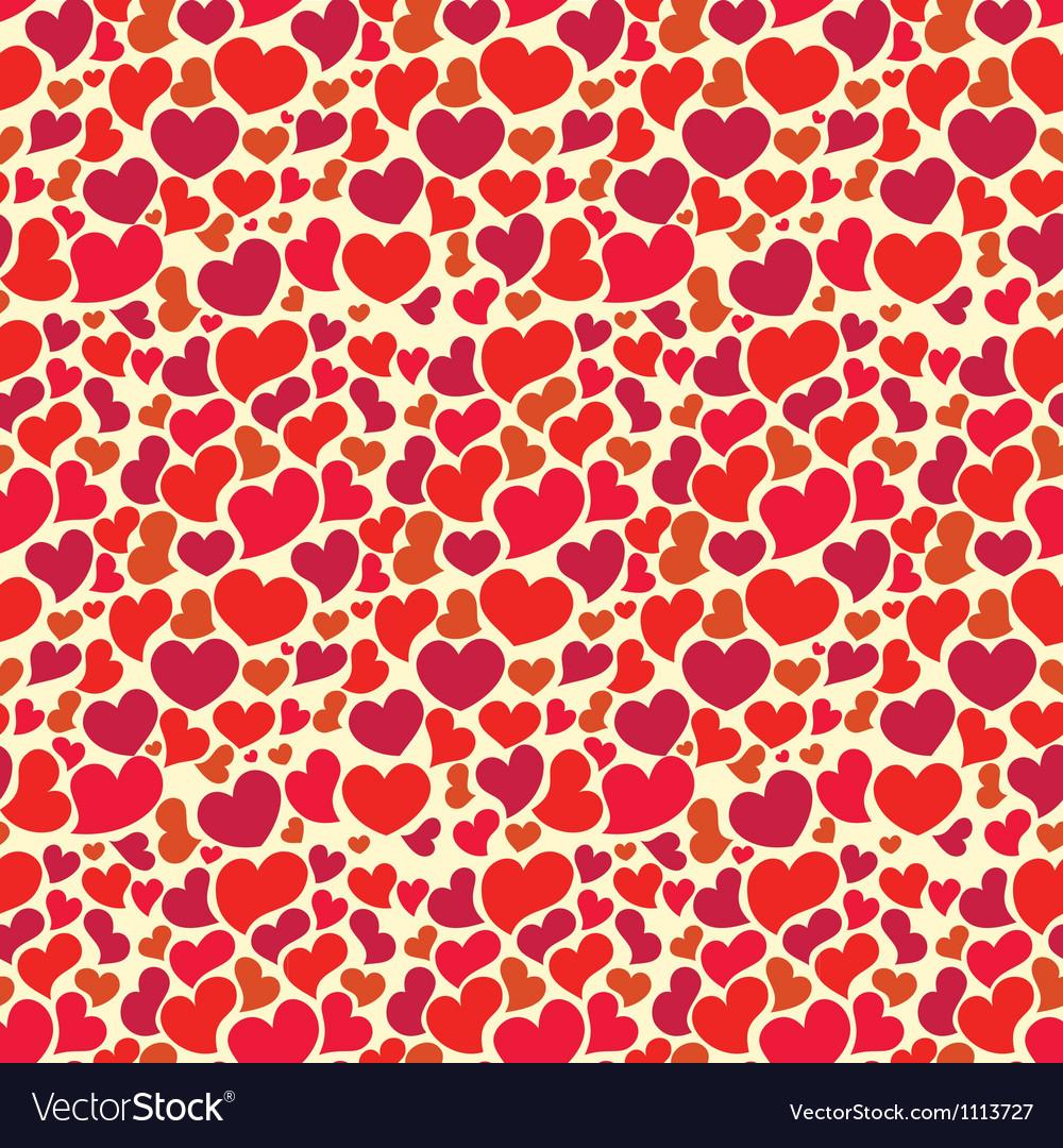 Valentine seamless pattern vector