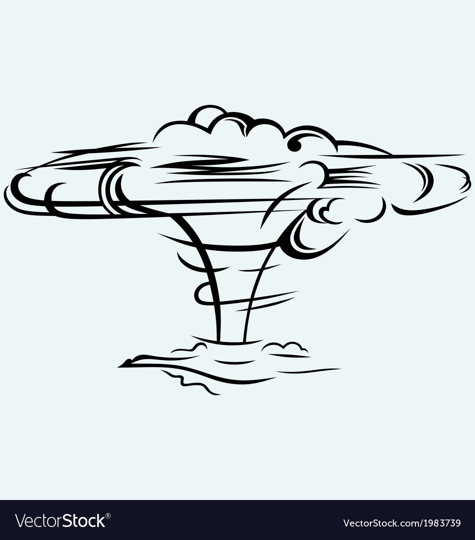 Atomic explosion vector