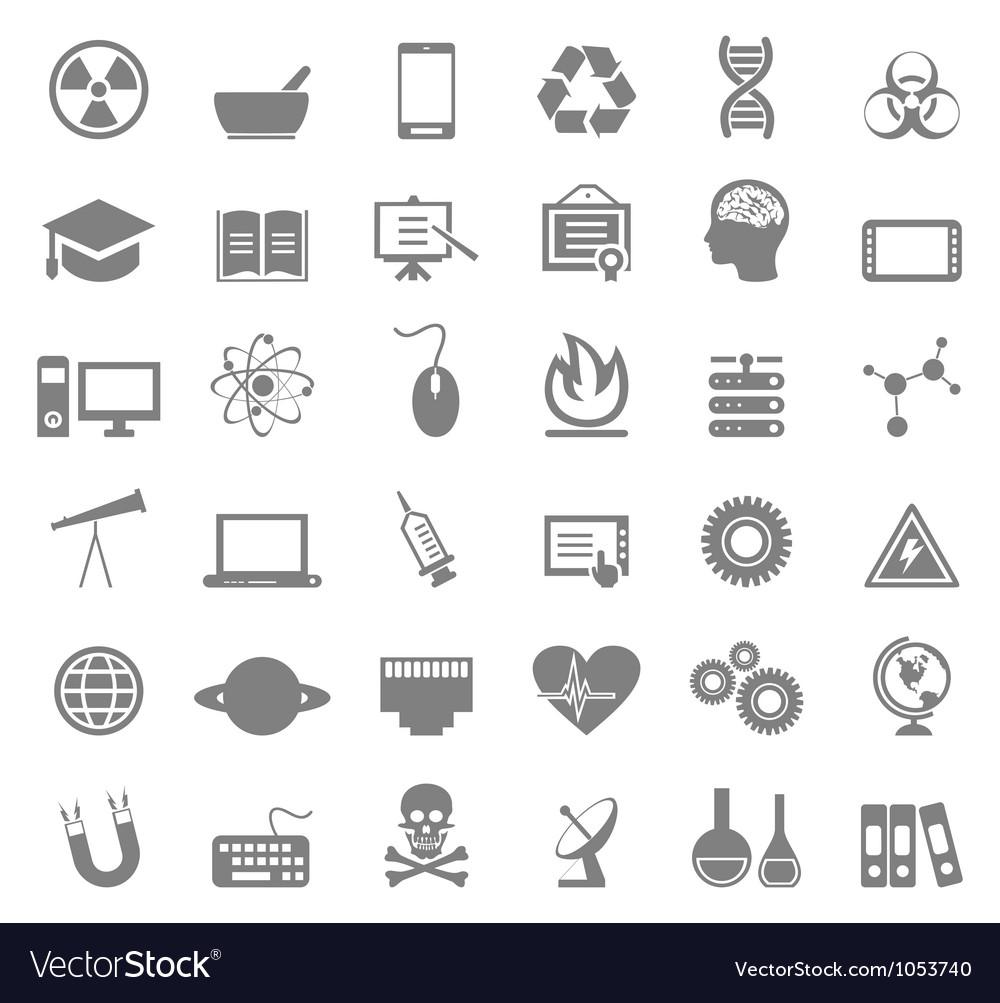 Science icon5 vector
