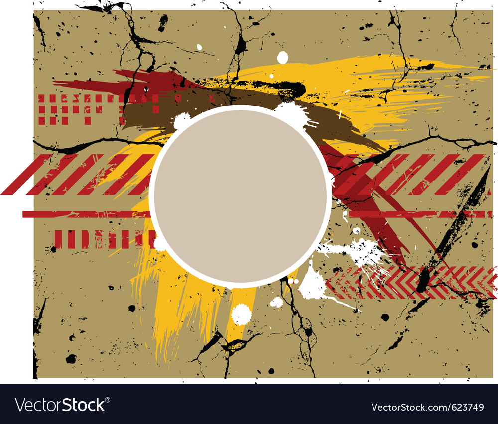 Army grunge background vector