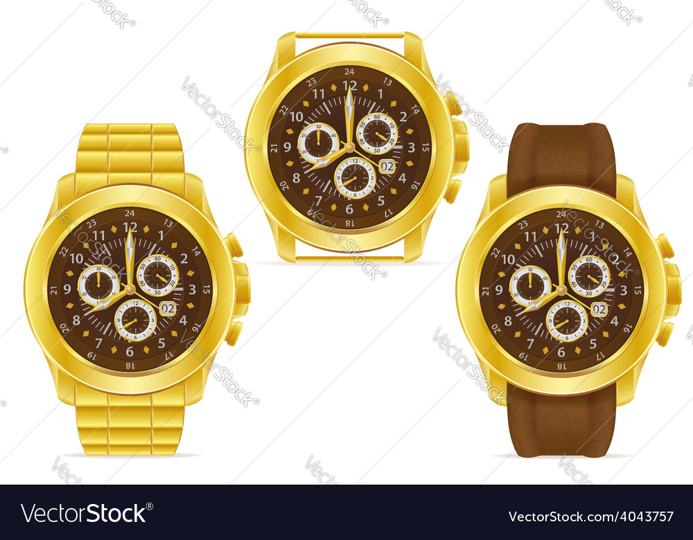 Wristwatch 04 vector