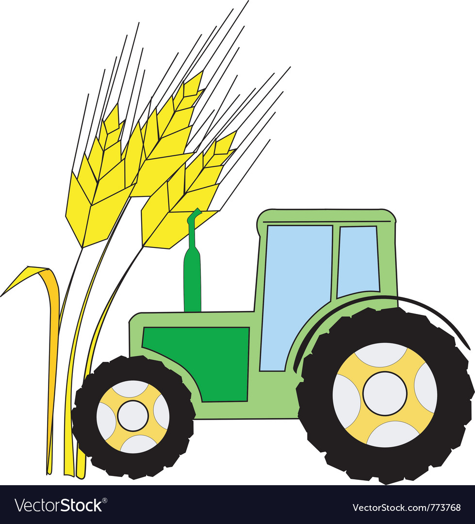 Symbol of agriculture vector