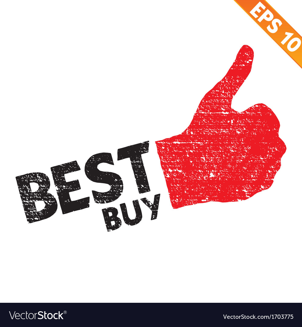 Stamp sticker best buy tag collection - - e vector