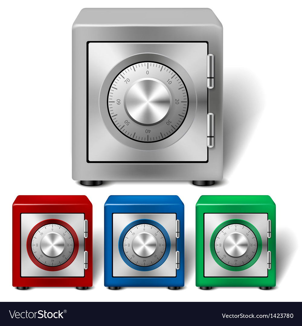 Four color safe vector