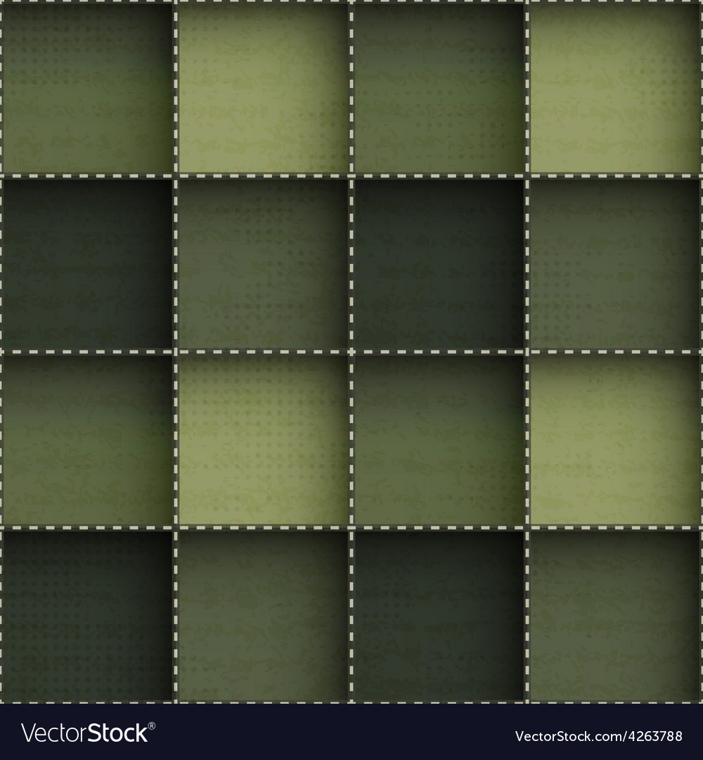 Abstract cloth seamless pattern with grunge effect vector