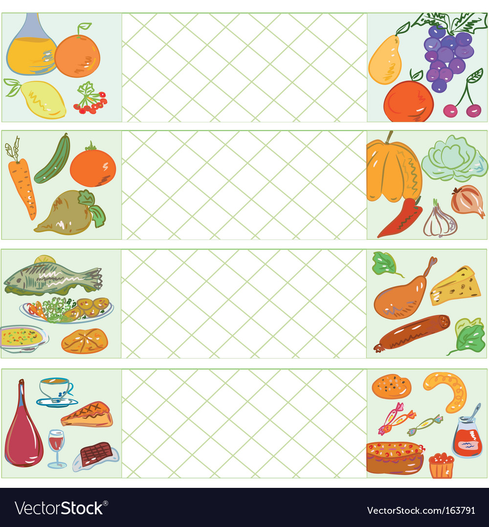 Cooking banners vector