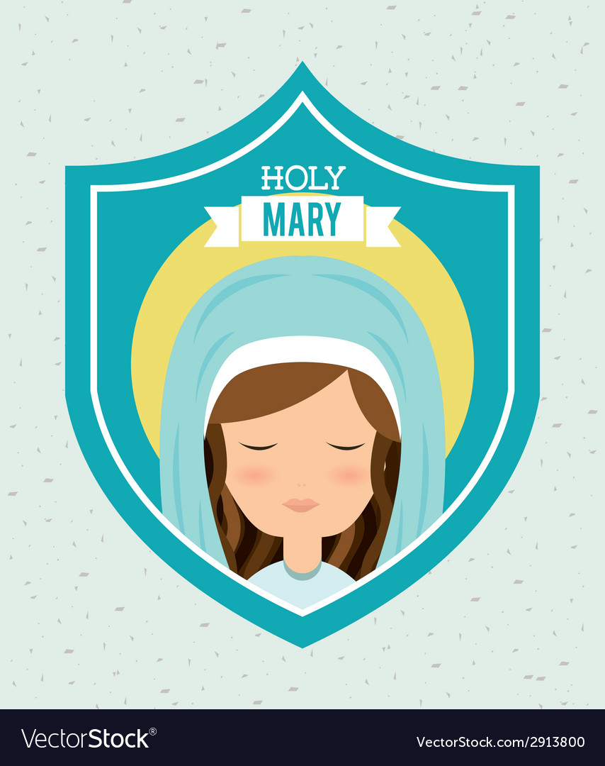 Holy mary vector