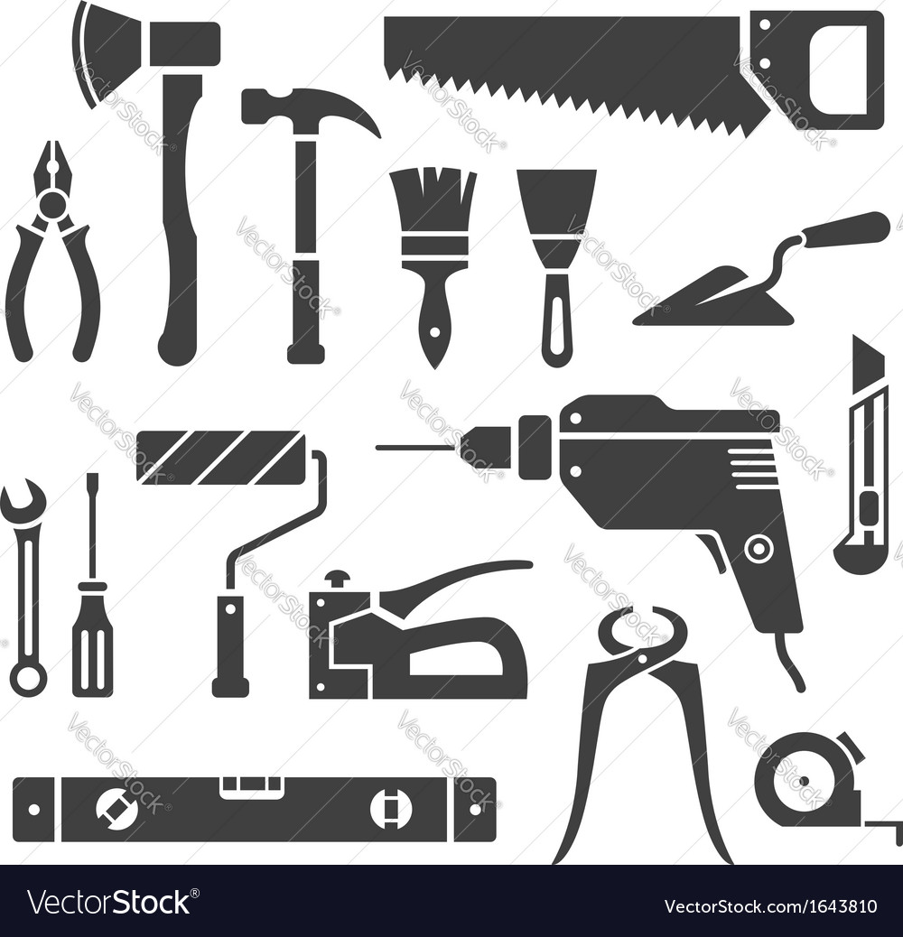 Repair tools vector