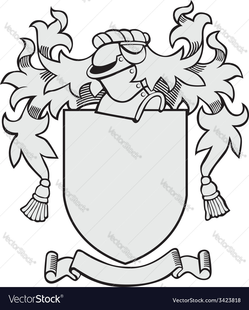 Aristocratic emblem no26 vector