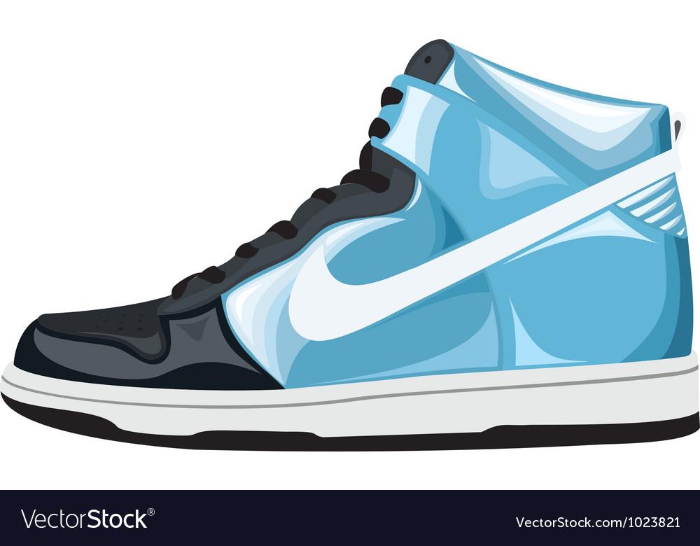Sport shoes vector