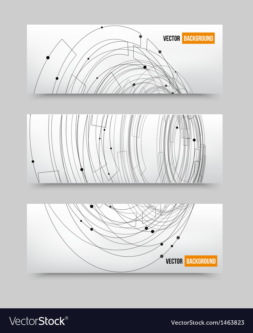Point and line black card vector