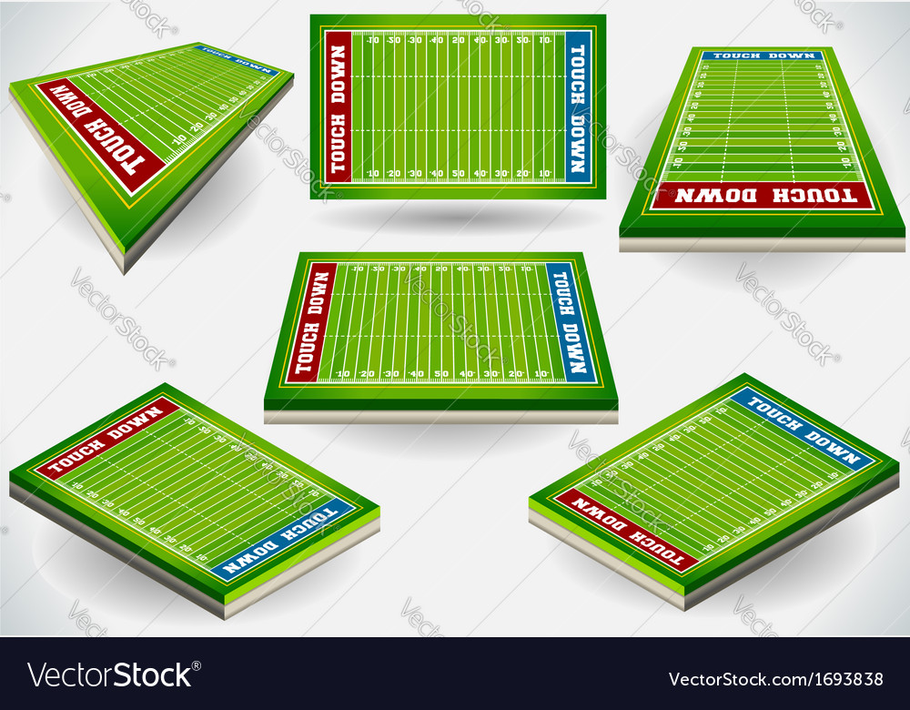 Info graphic stadium with player placeholder vector