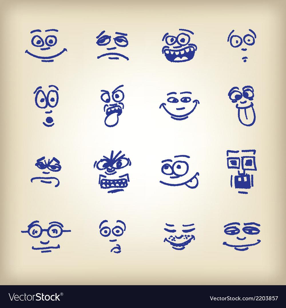Emoticons-vector