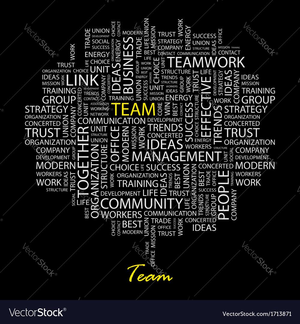 Team vector