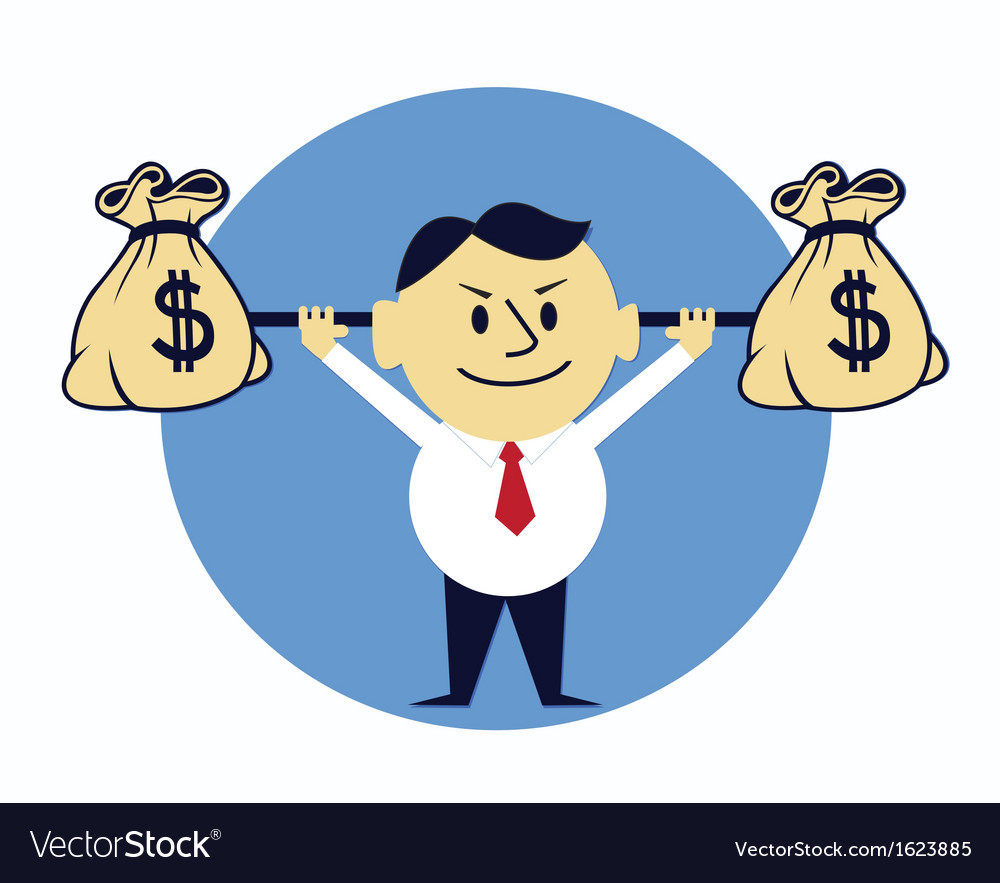 Money lifting vector