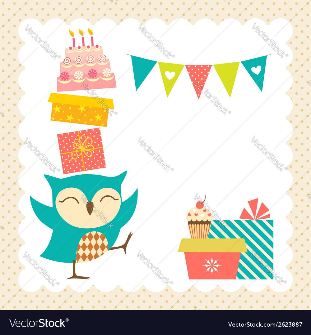Owl-birthday-party-vector
