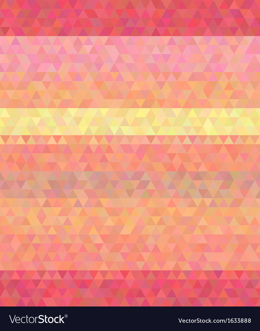 Abstract background polygon flat style glamour vector