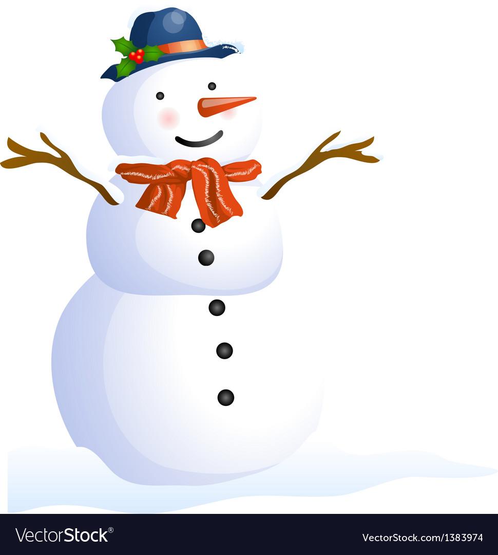 Icon snow vector