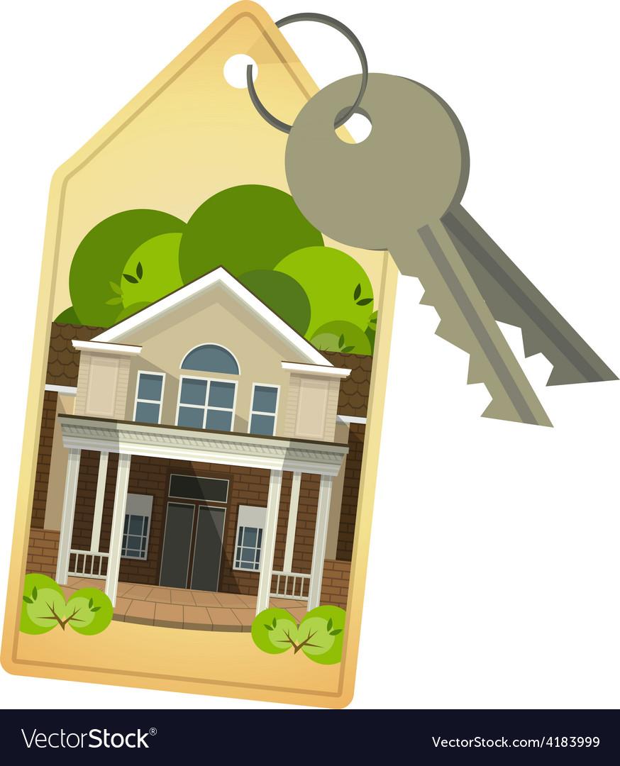 House keys vector