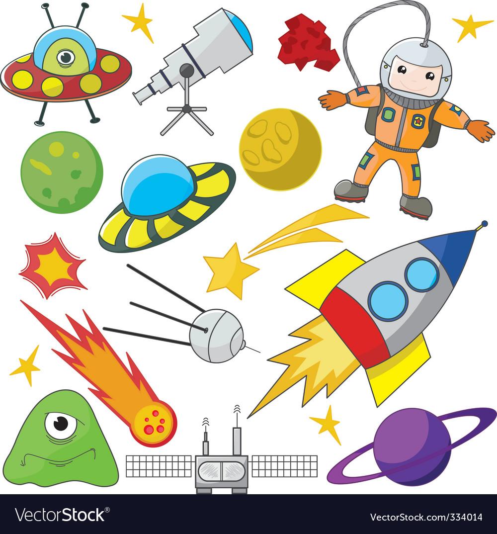 Space exploration vector