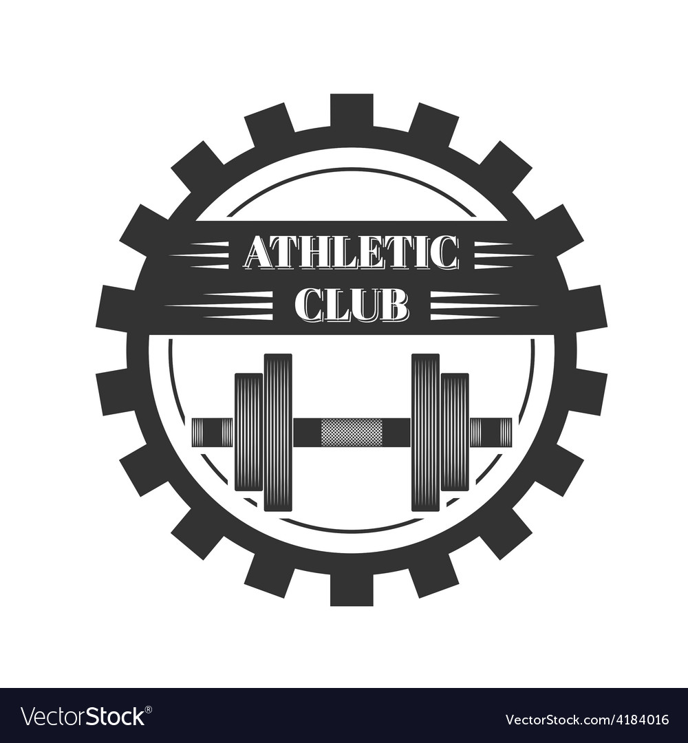 Logo for sport athletic club vector