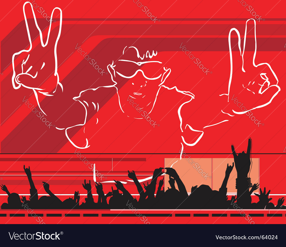 Youth party vector