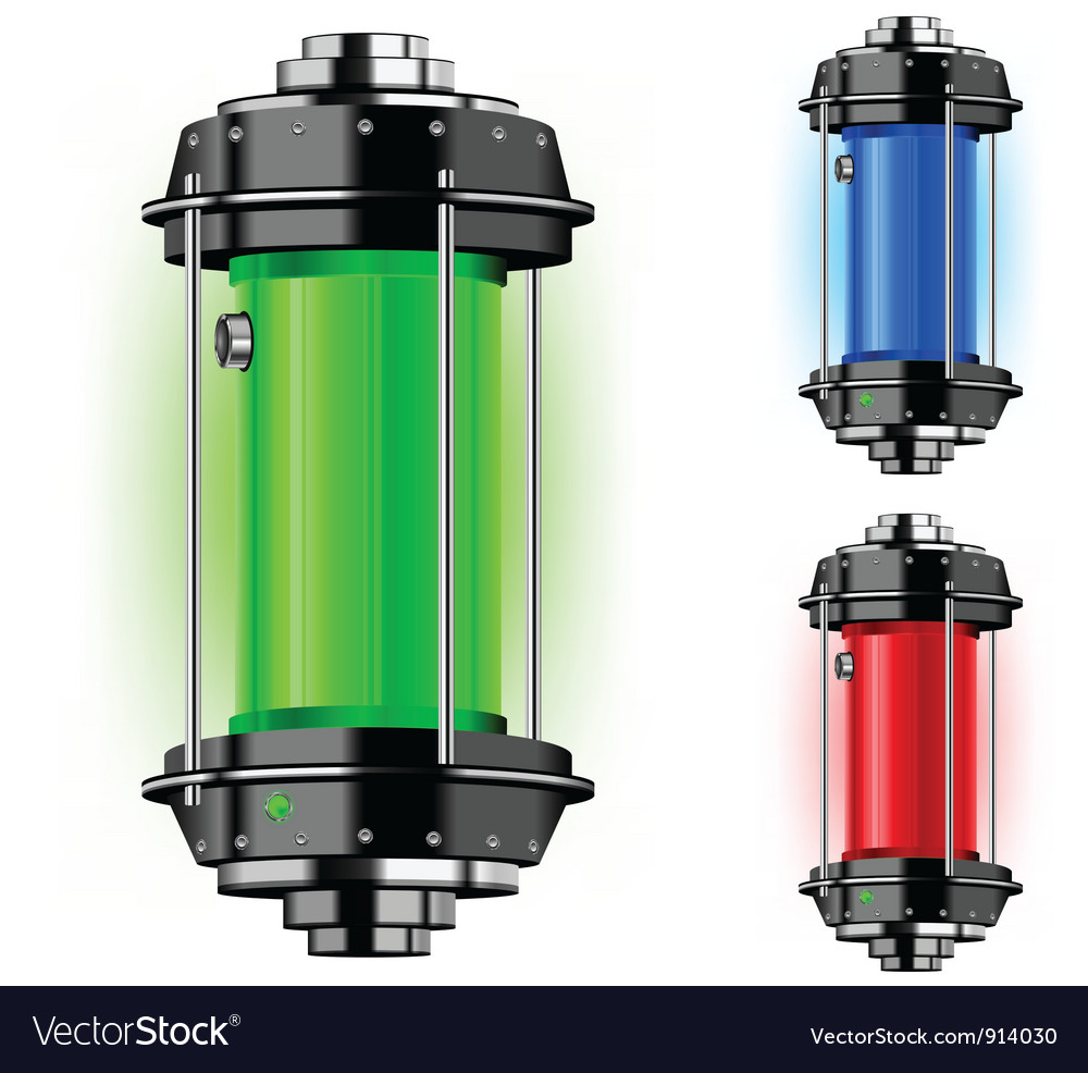 Container energy vector