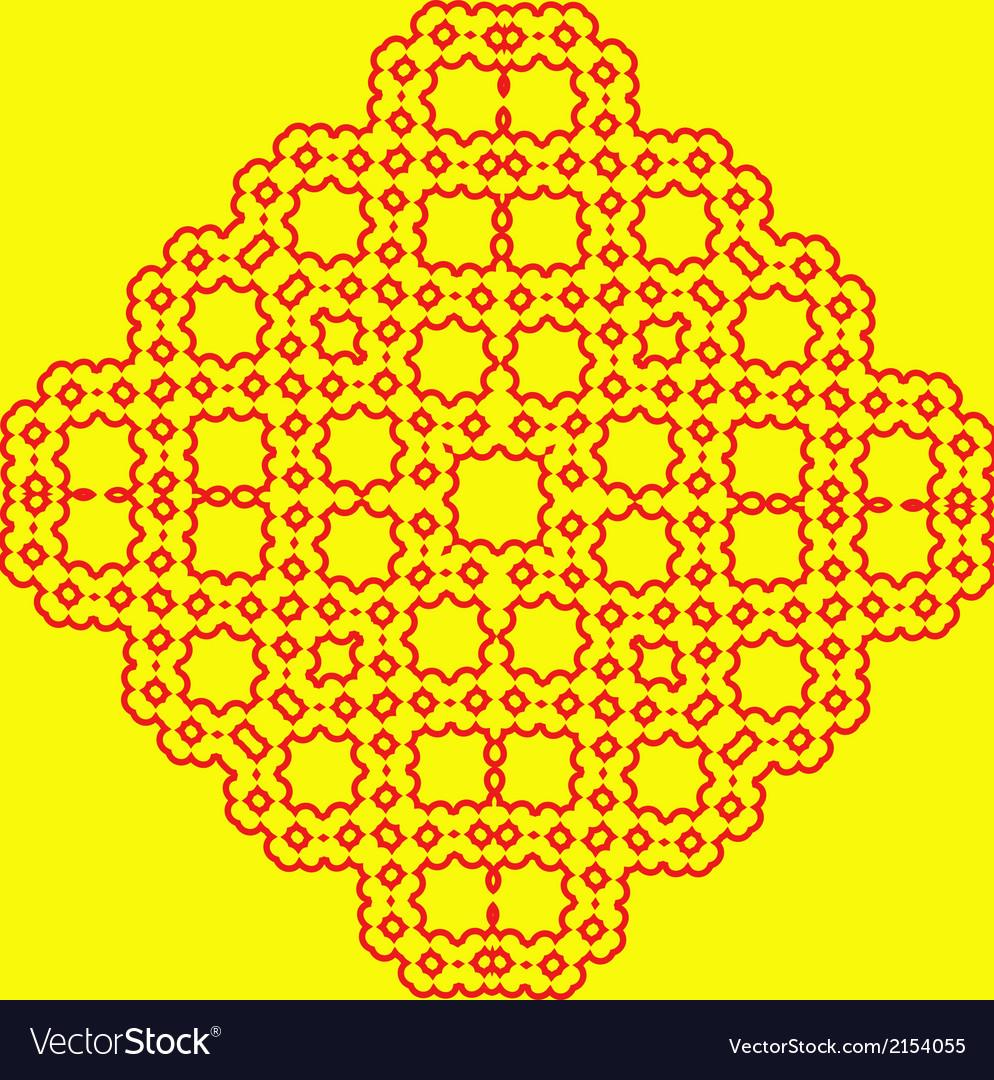 China pattern vector