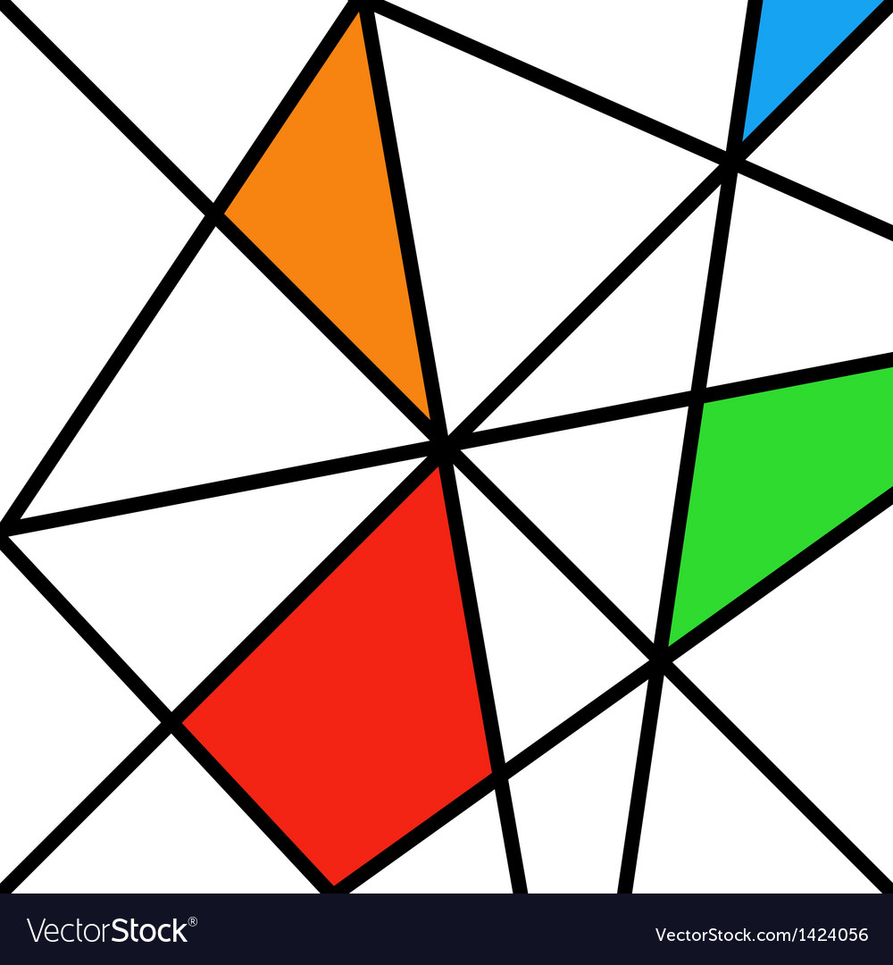 Old retro rhombuses ancient drawing vector