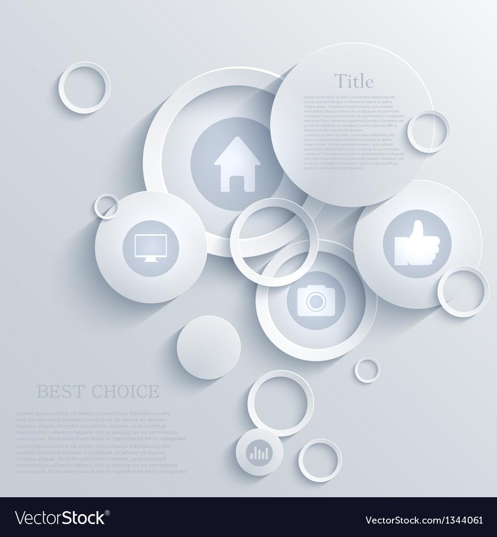 Infographic background design eps10 vector
