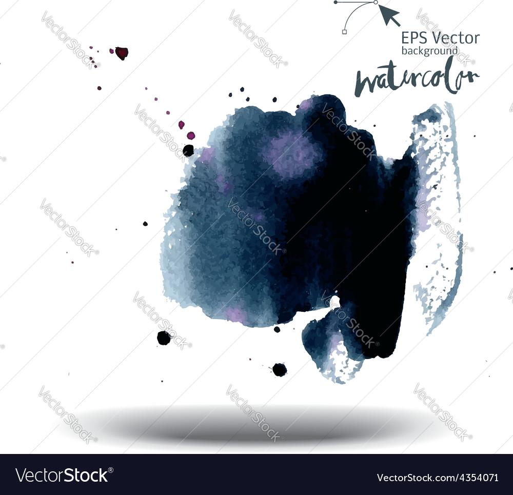 Watercolor background vector