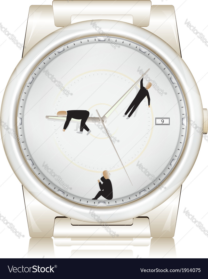 Lack of time concept vector