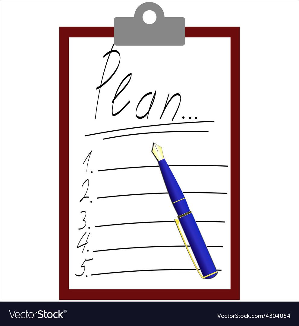 Plan list vector