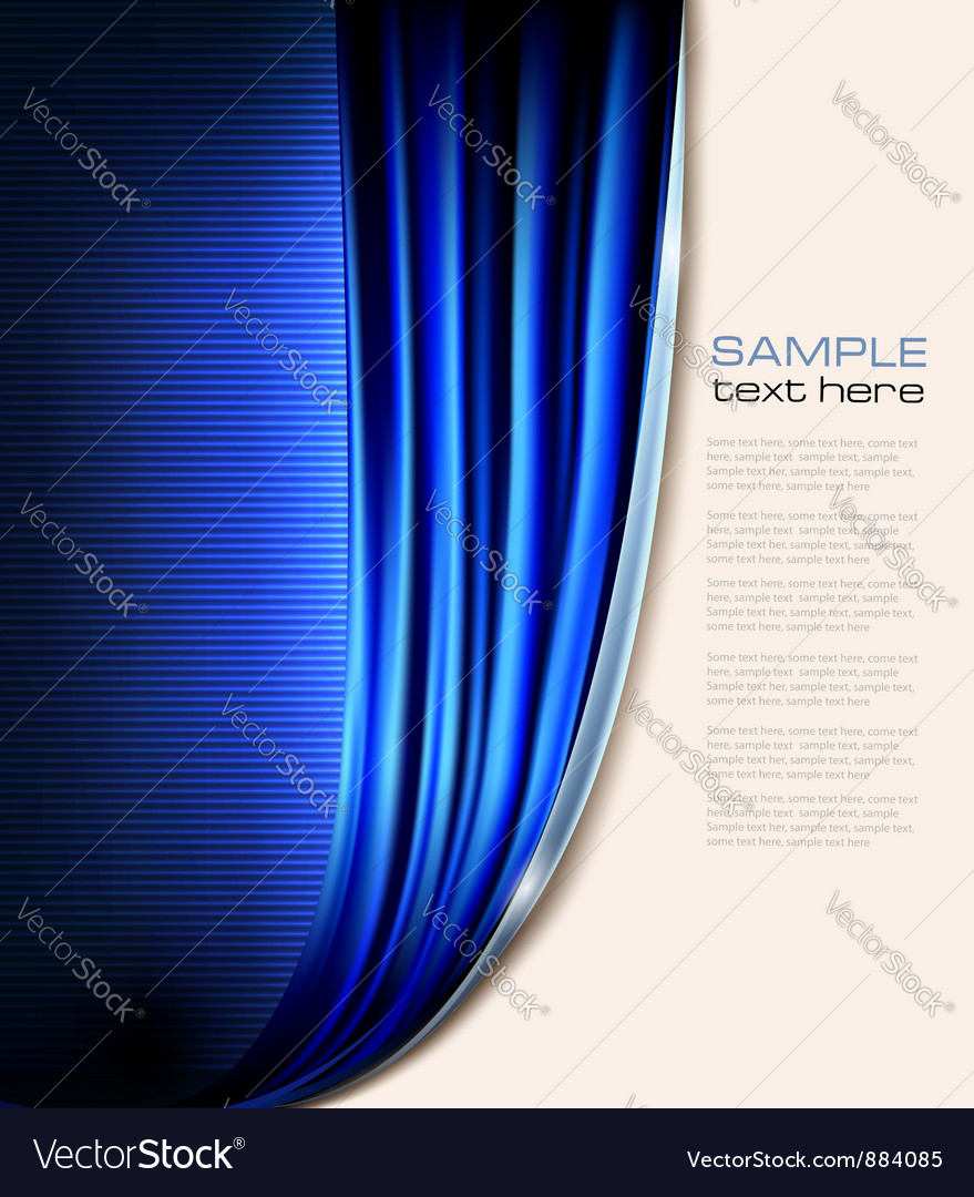 Curtain background vector
