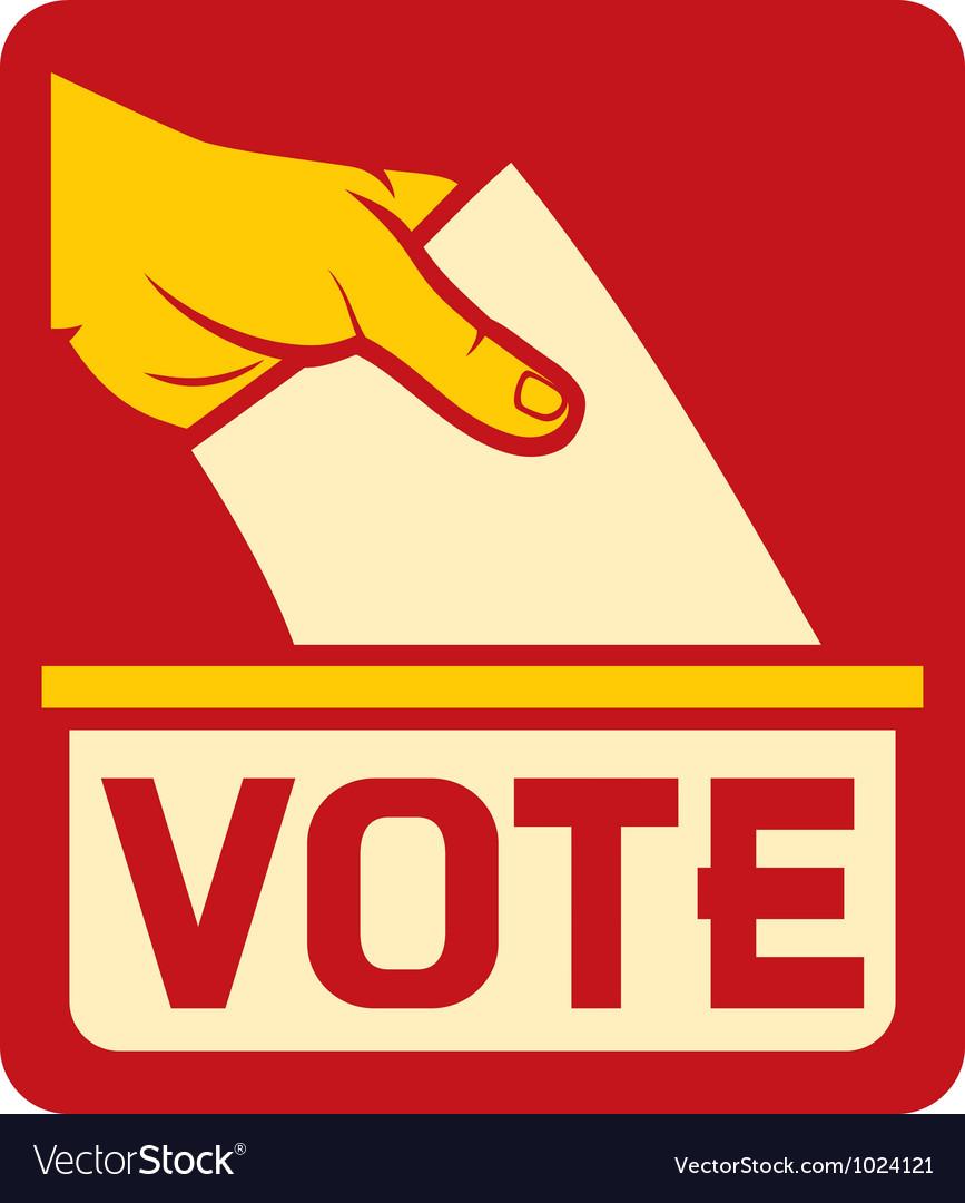 Vote symbol vector