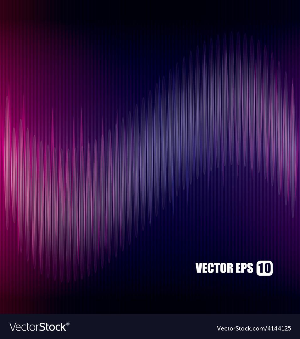 Sound design vector