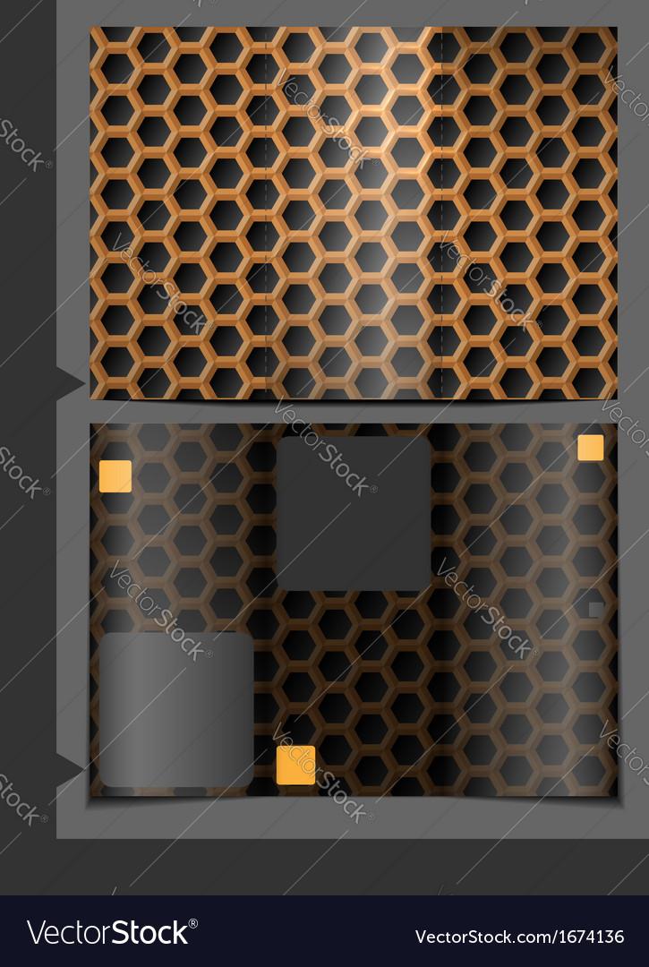 Metallic texture seamless pattern vector
