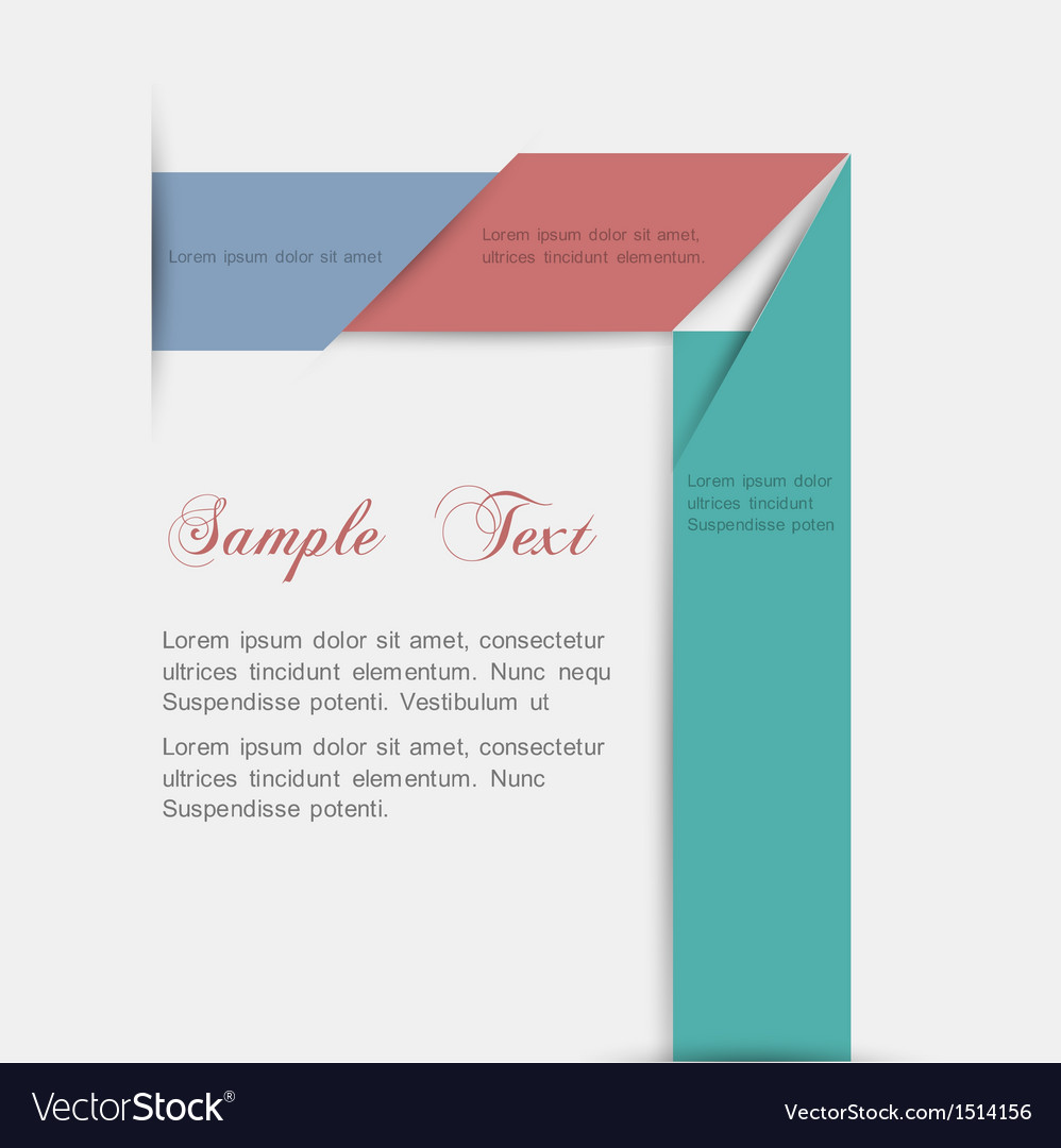 Minimalist style paper background for design vector