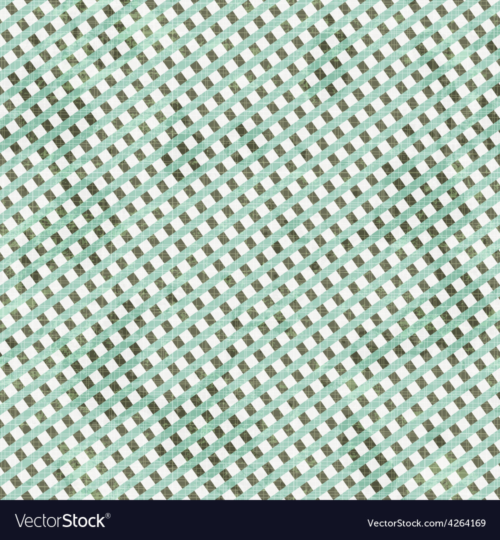 Abstract textile seamless pattern with grunge vector