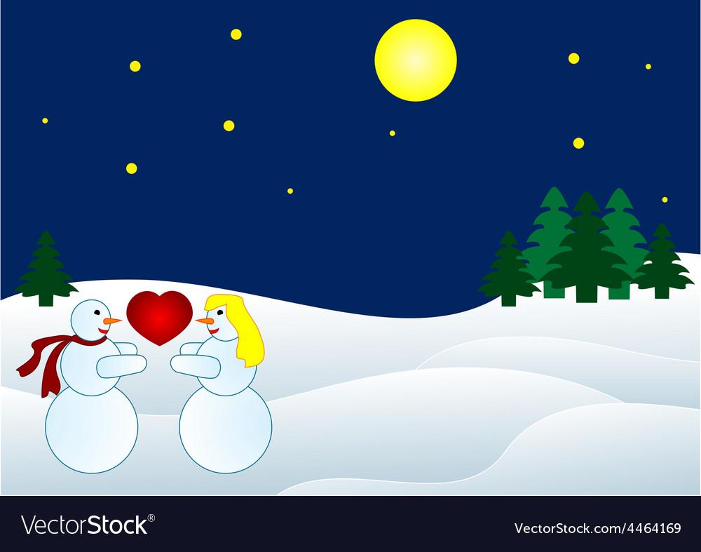 Christmas backround vector