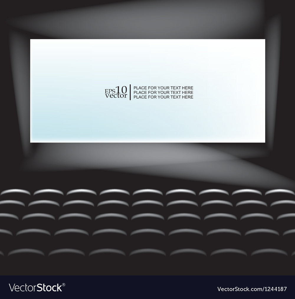 Blank screen vector