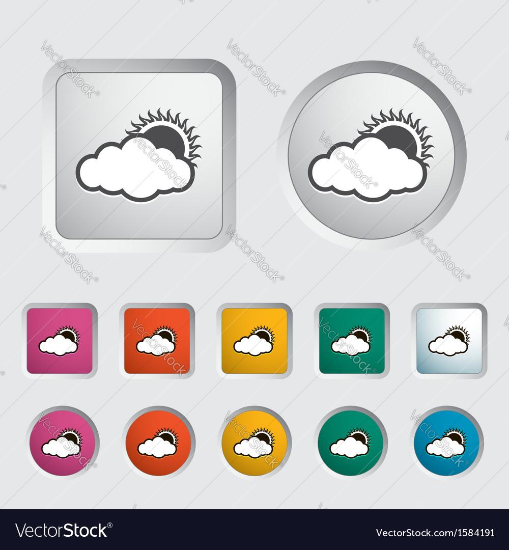 Overcast vector