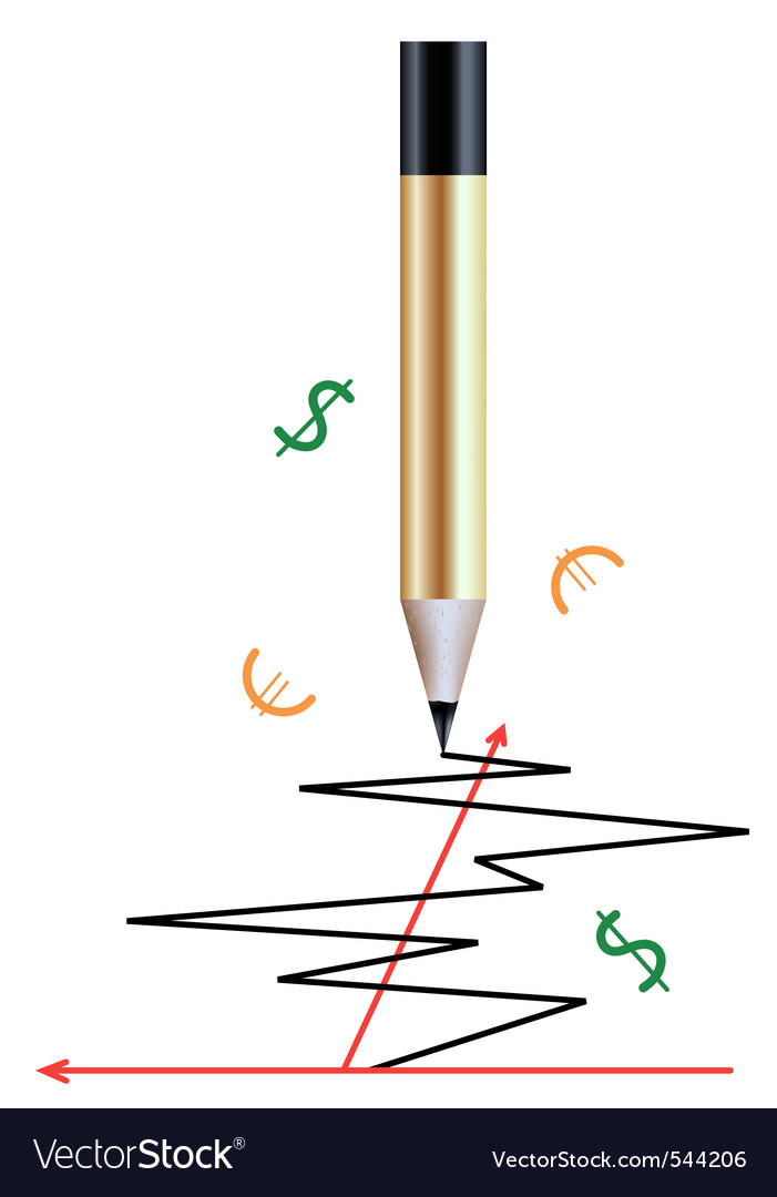 Pencil and a graph vector